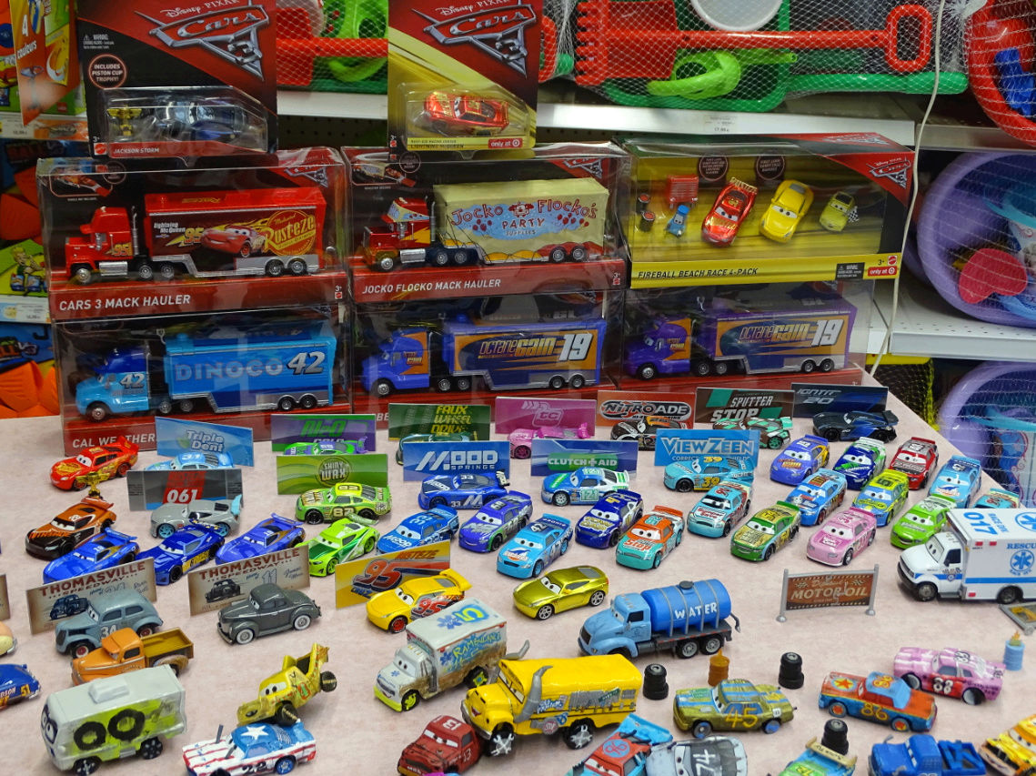 Exposition Cars Toys R Us Ph910