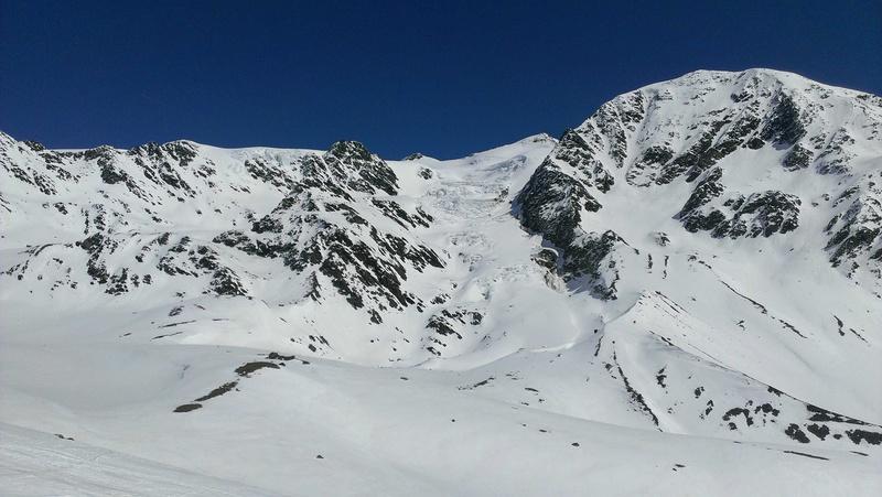 Raid en Ortlès J6 : Mont Cevedale 3769 m J6-010
