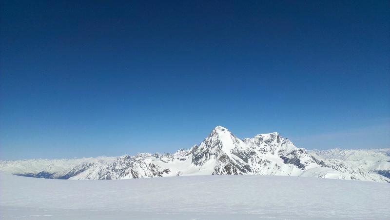 Raid en Ortlès J6 : Mont Cevedale 3769 m J6-1010