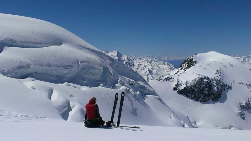Raid en Ortlès J6 : Mont Cevedale 3769 m J6-1110