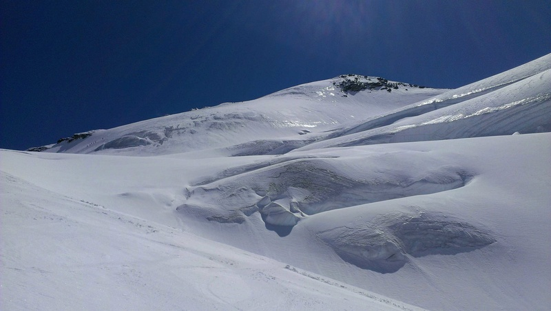 Raid en Ortlès J6 : Mont Cevedale 3769 m J6-1210
