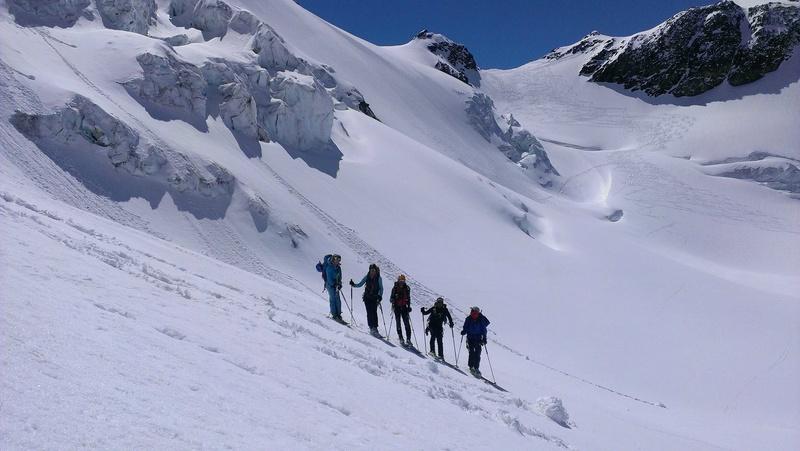 Raid en Ortlès J6 : Mont Cevedale 3769 m J6-13-10