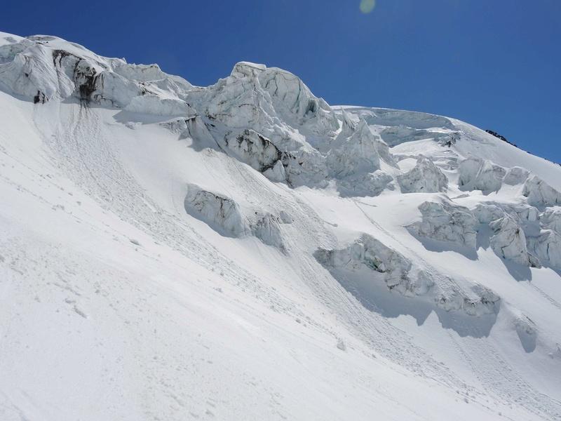Raid en Ortlès J6 : Mont Cevedale 3769 m J6-1610