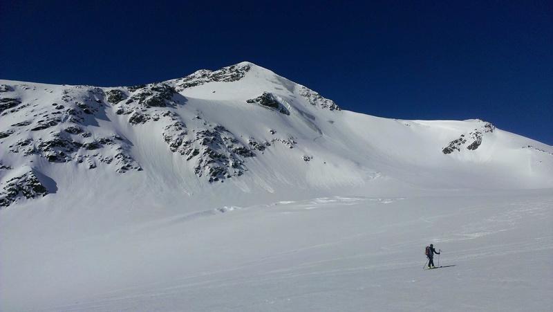 Raid en Ortlès J6 : Mont Cevedale 3769 m J6-310