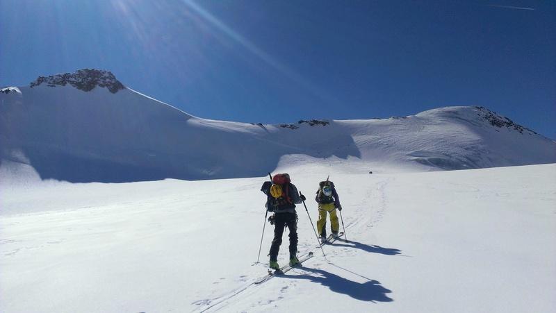 Raid en Ortlès J6 : Mont Cevedale 3769 m J6-610