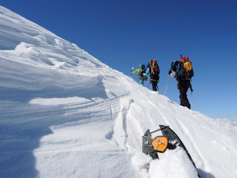 Raid en Ortlès J6 : Mont Cevedale 3769 m J6-810