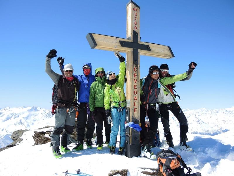 Raid en Ortlès J6 : Mont Cevedale 3769 m J6-9-510