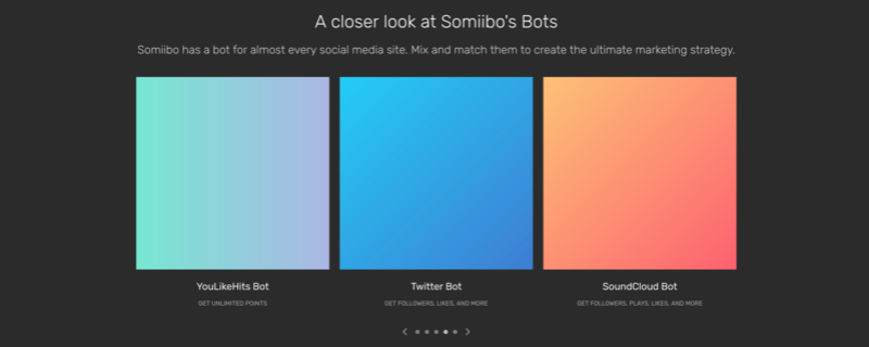 Social Media Bot & Automation - Somiibo Screen13