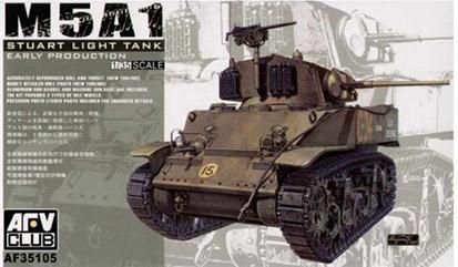 Stuart M5A1 - AFV CLUB - 1/35 17101013