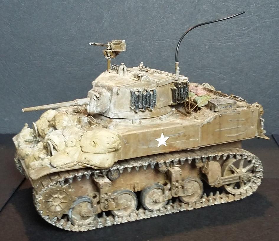 Stuart M5A1 - AFV CLUB - 1/35 17101019