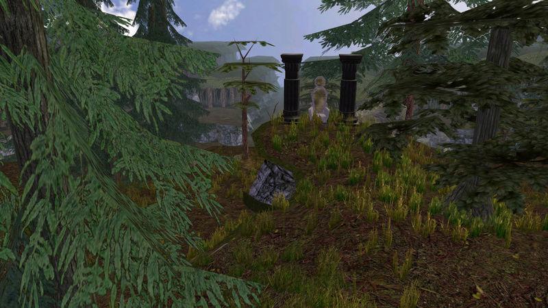 Trono de piedra en La colina de los Tejones Trono_10