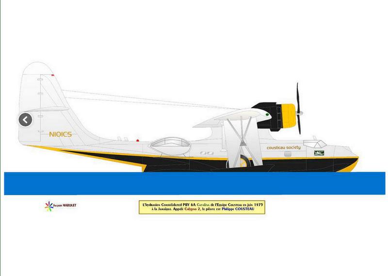 hydravion P B Y  Cousteau  Captur21