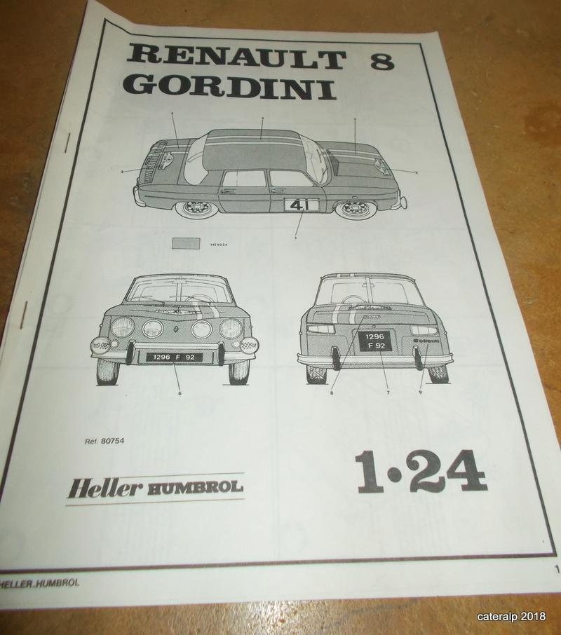 La mythique R8 Gordini Heller  Gordin12