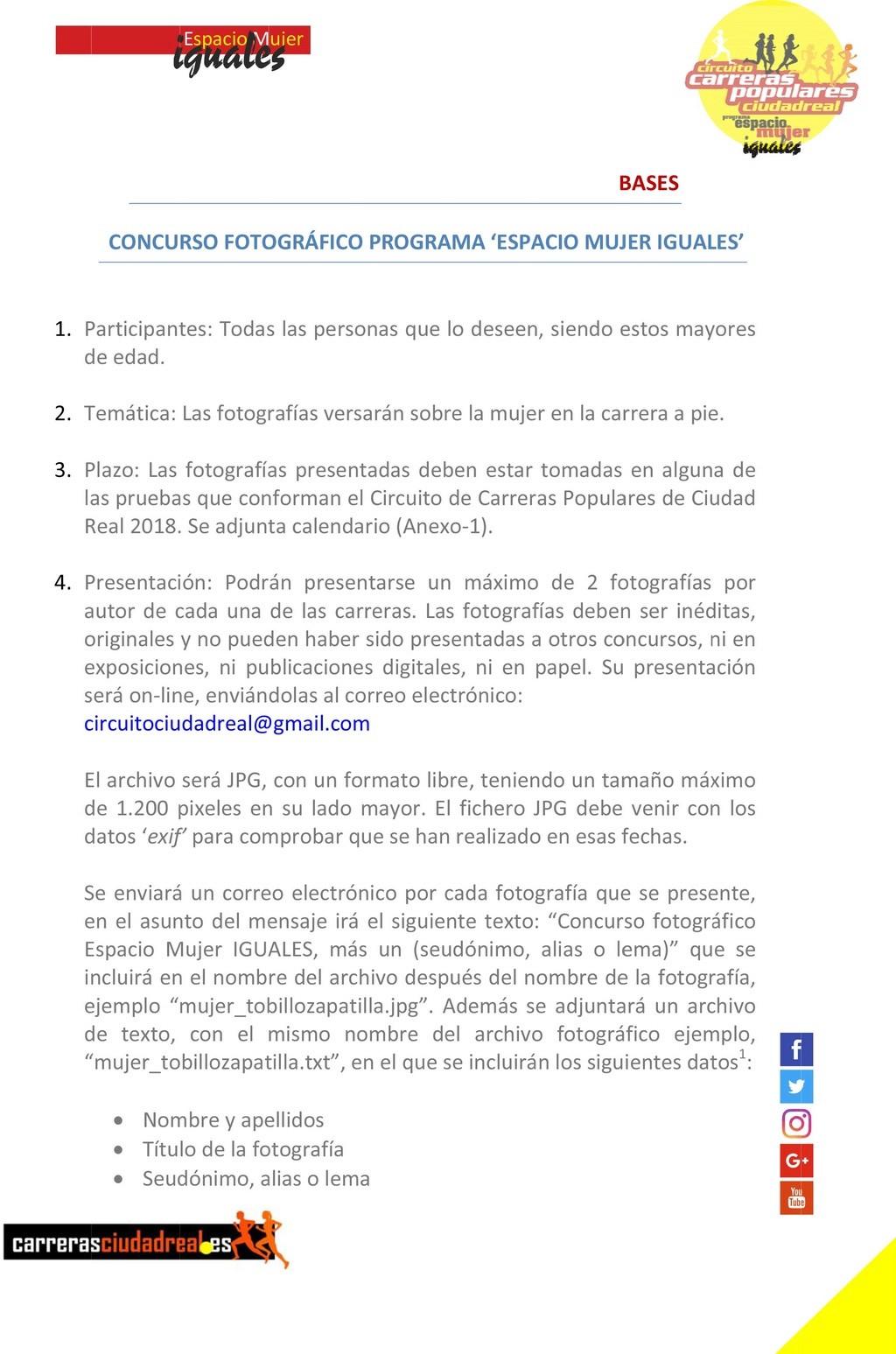 Concursos de Fotografía Diciembre 2018 Iguale10
