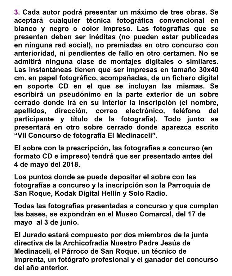 Concursos de Fotografía Mayo 2018 Medina13