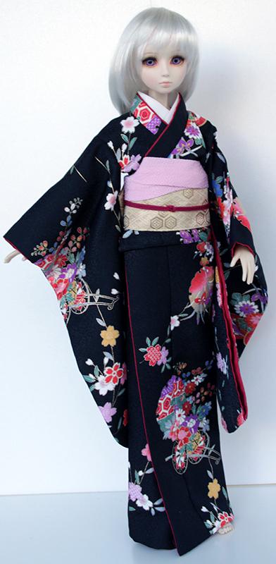 [Vendue] Tête Parabox Gretel peinte à la main + Offre kimono Wa-km612