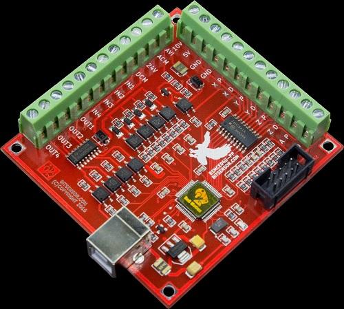 Mach3 - Carte BitSensor USB 100 Khz Carte_10