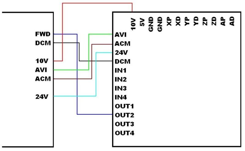 Mach3 - Carte BitSensor USB 100 Khz Carte_12