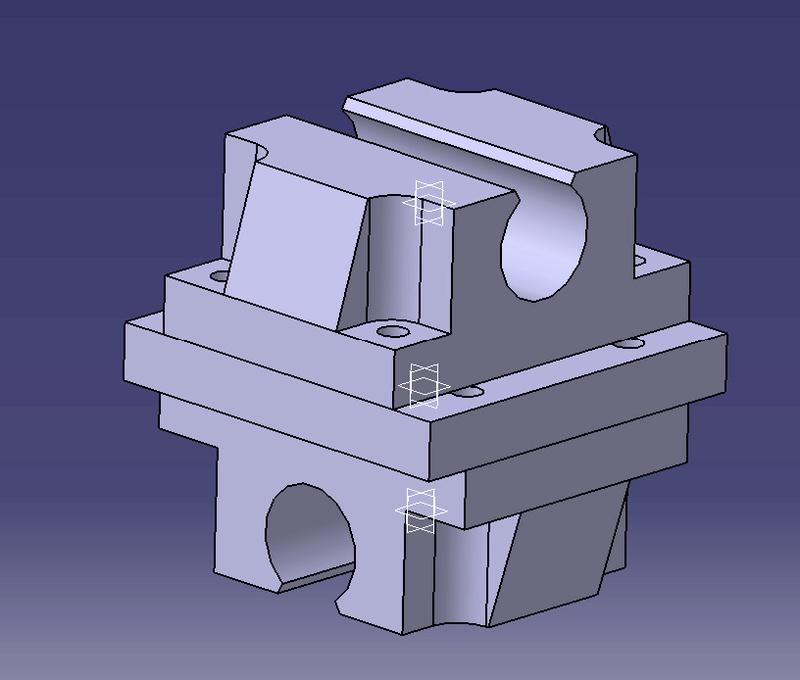 CNC 4 axes de CARLOS Palier10