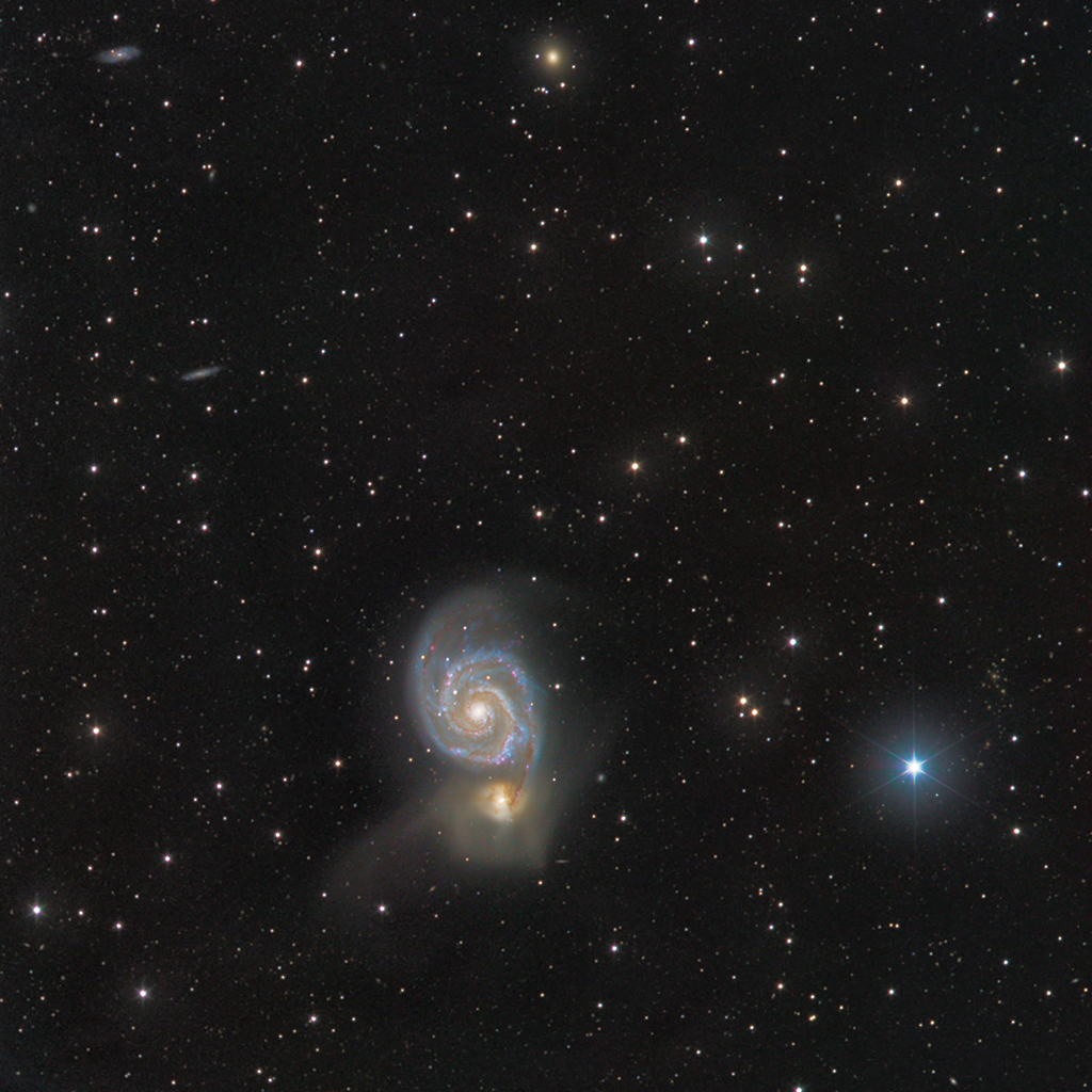 M51 en LRGB M51-s10