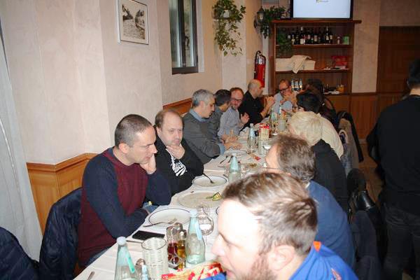 Pizzzata natalizia ambrosiana con gli amici del forum SCLS Fteyo110