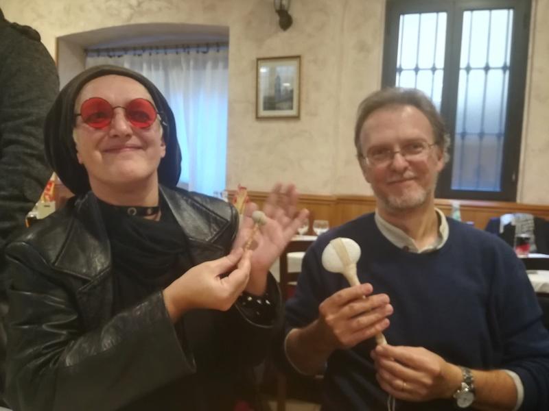 Pizzzata natalizia ambrosiana con gli amici del forum SCLS Sclsbo11