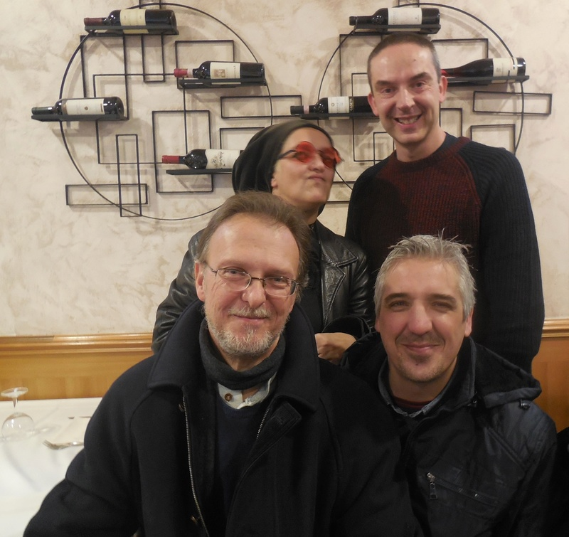 Pizzzata natalizia ambrosiana con gli amici del forum SCLS Sclsbo15