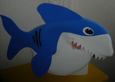tiburon - Gorro con forma de Tiburón 057210