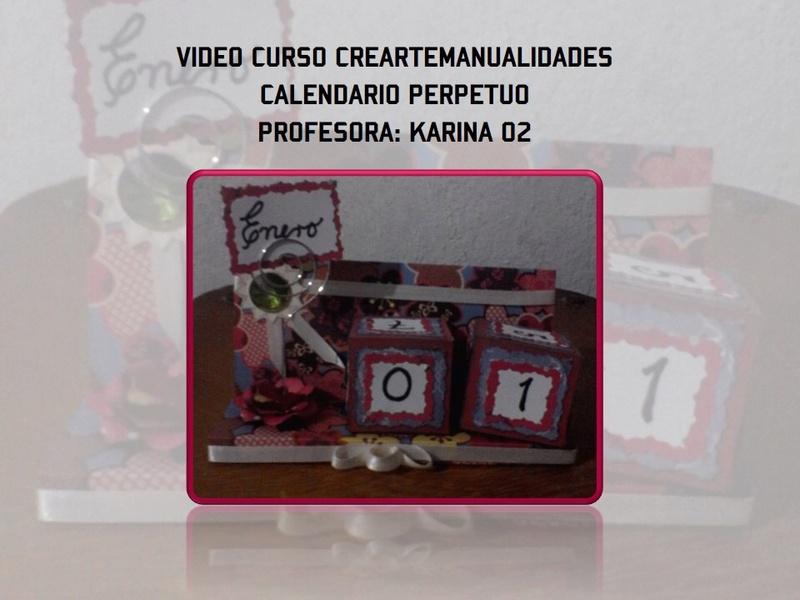"""VIDEO-CURSO GRATIS: """"CALENDARIO PERPETUO"""" Detalles, inscripcion y presentacion de la tarea Img_3610"""