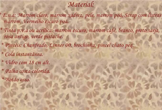 """RETO GRATIS: """"TARRO CON PERRITO BY THEO"""". Detalles, inscripcion y presentacion de la tare Materi12"""