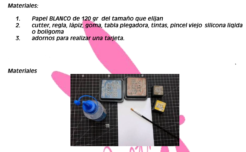 """CREARTESCRAP-CURSO GRATIS: """"DISEÑO DE FONDOS"""". Detalles, inscripcion y presentacion de la tarea  Materi16"""