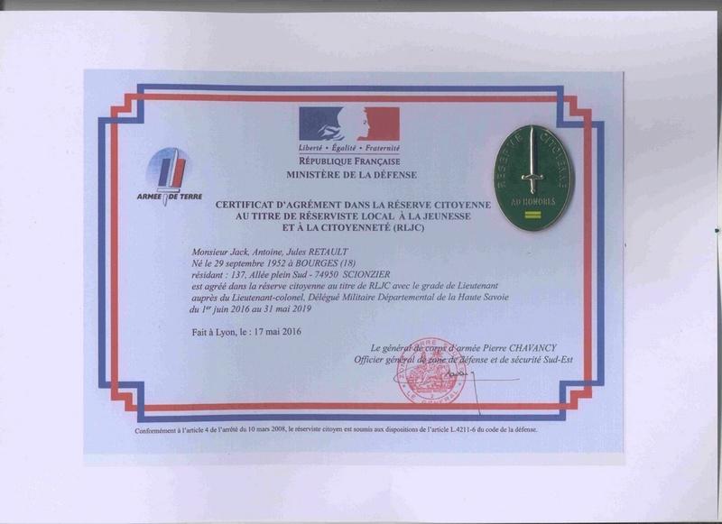 « réunion de rentrée de la Délégation Militaire Départementale de la Haute Savoie » Agreme10