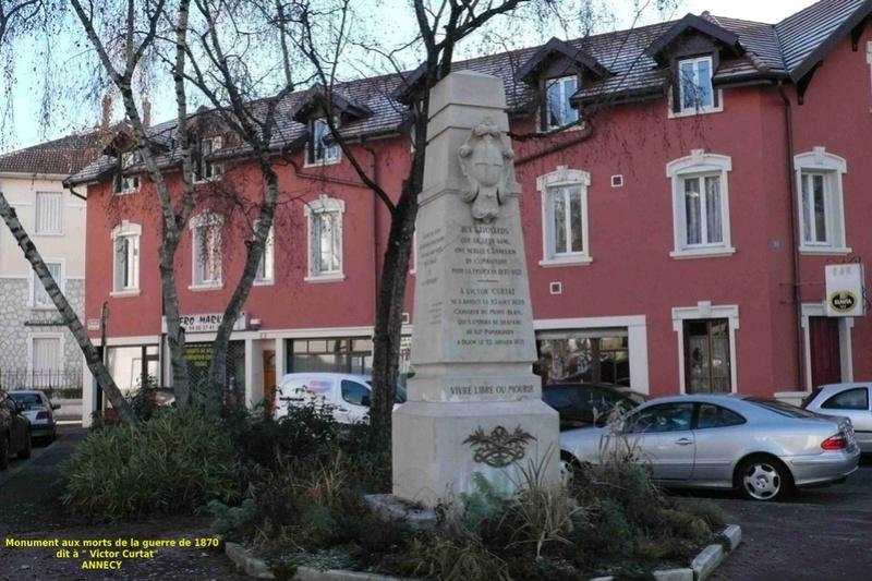 « Les monuments aux morts de la guerre 1870 en Haute Savoie » Annecy12