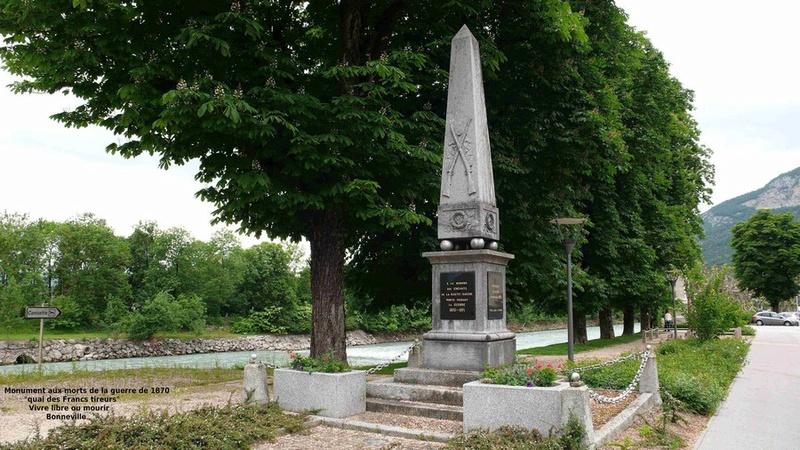 « Les monuments aux morts de la guerre 1870 en Haute Savoie » Bonnev12
