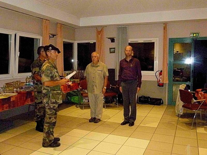 « réunion de rentrée de la Délégation Militaire Départementale de la Haute Savoie » Remise10