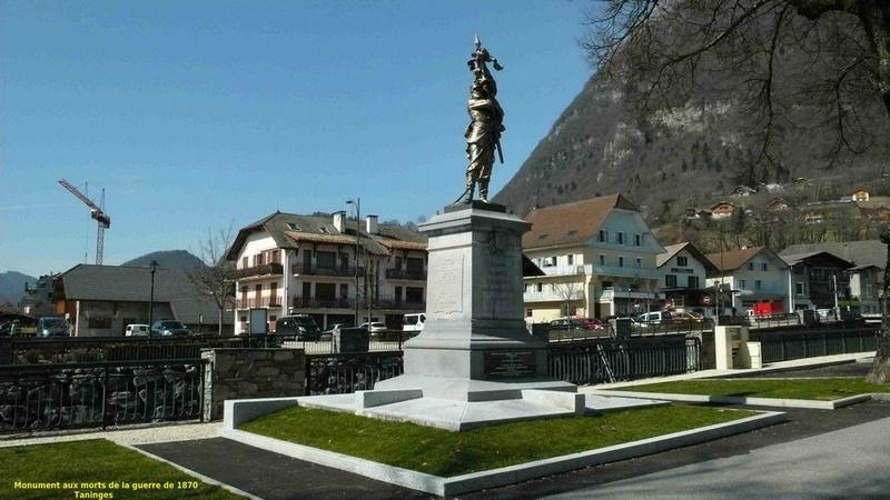 « Les monuments aux morts de la guerre 1870 en Haute Savoie » Taning12