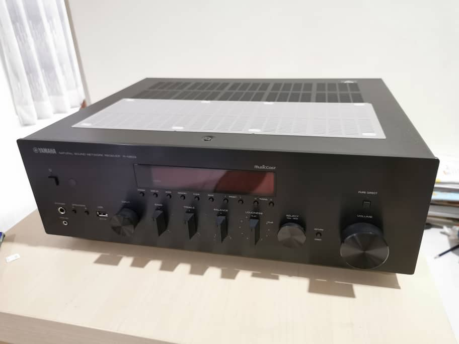 Yamaha R-N803 all-in-one stereo receiver (SOLD) Whatsa11