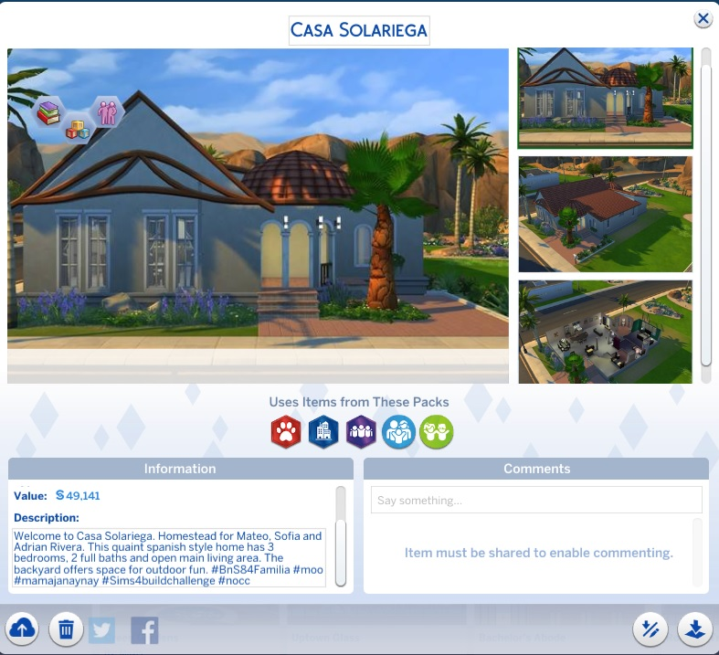 Build n Share Sims 4 - Page 3 Casa_s10