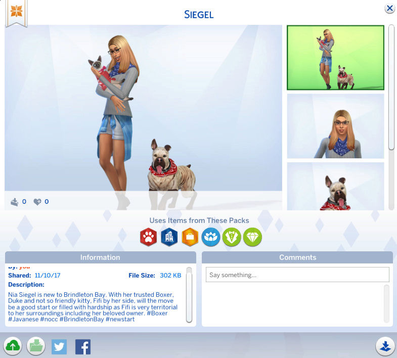 Pet Parade - #TS4CatsAndDogs - Share Thread Siegel10