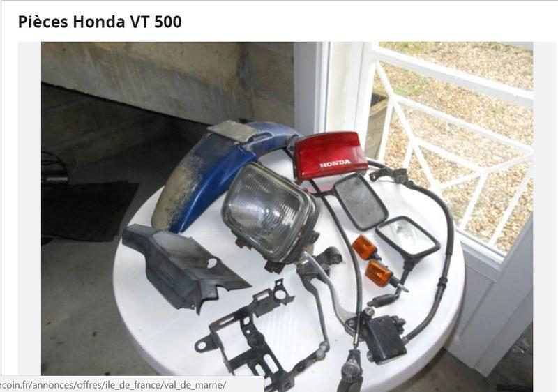 Pièces Honda VT 500 110