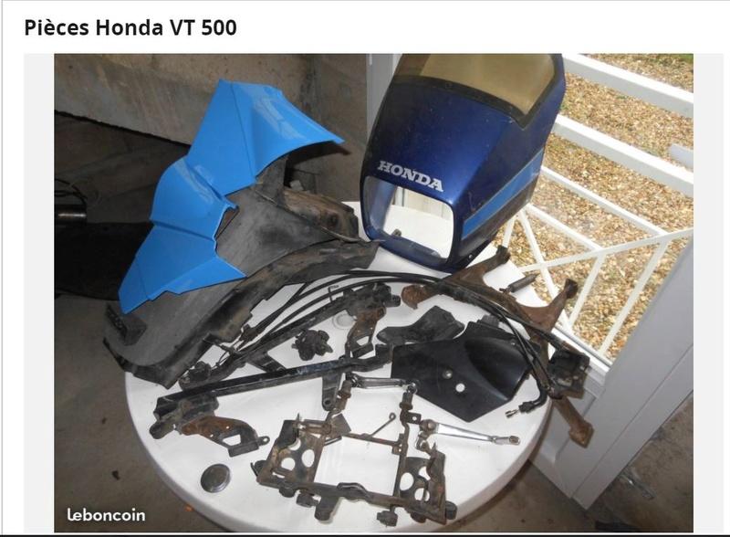 Pièces Honda VT 500 210