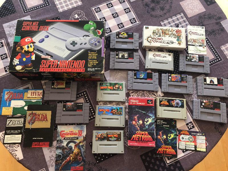 [EST] Super Nintendo en boite, comme neuve + 13 jeux + cable rgb - dézonnée -  Super_10