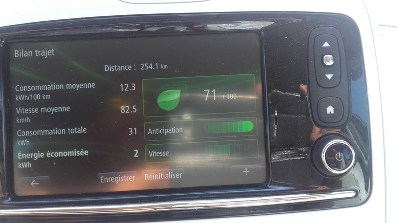 Conso très élevée... 19 kWh/100 km à 95 km/h sur autoroute - HELP 20170410