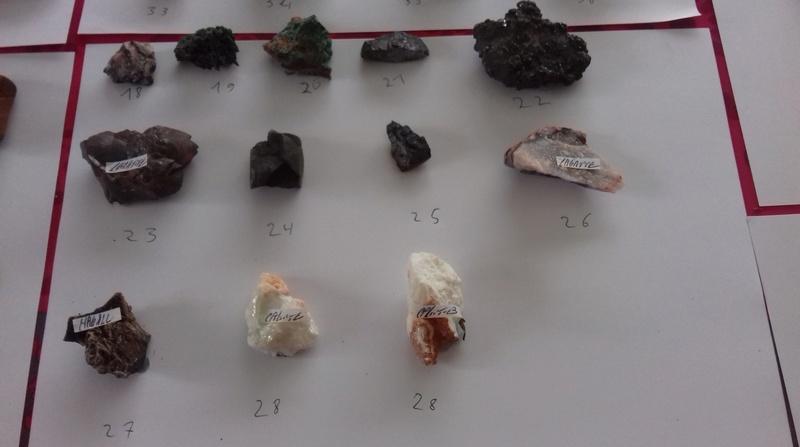 Besoin d'aide identifications de ma collection de minéraux 310