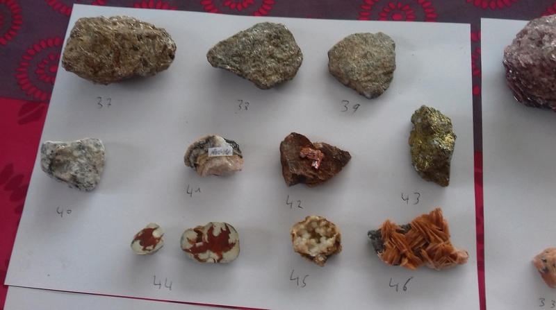 Besoin d'aide identifications de ma collection de minéraux 510