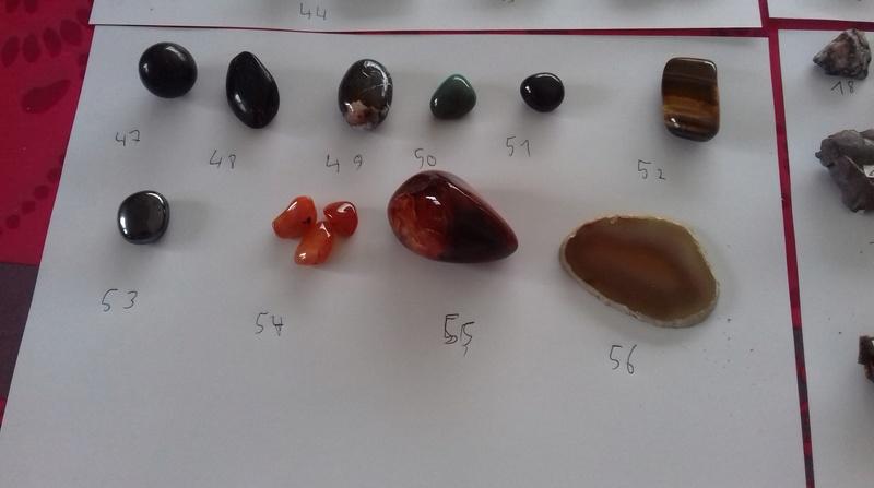 Besoin d'aide identifications de ma collection de minéraux 610