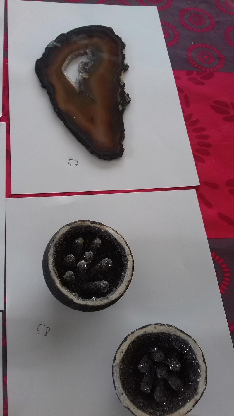 Besoin d'aide identifications de ma collection de minéraux 710