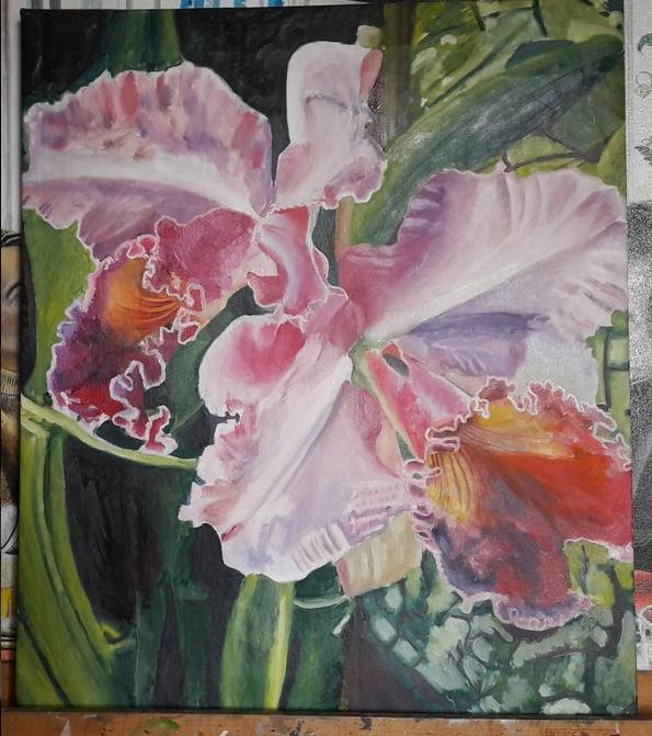 PEINTURE du B. B. King - Página 4 Orchid10