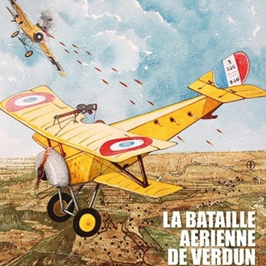 Samedi 21octobre : combats aériens, Verdun 1916 20171010