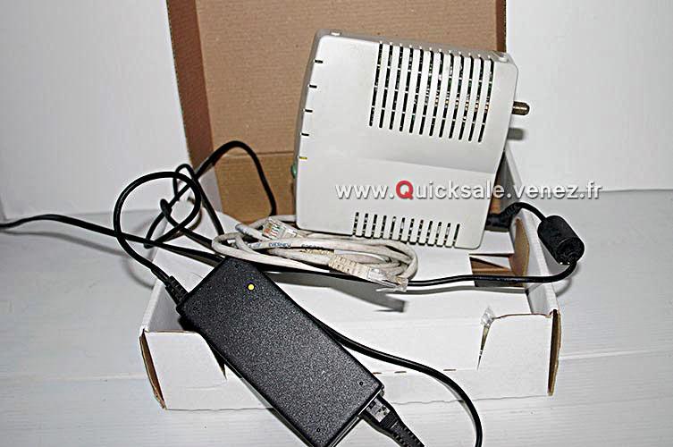 [VDS] Modem Thomson TCM290 connexion internet câble PC/MAC 18€ Tcm29012